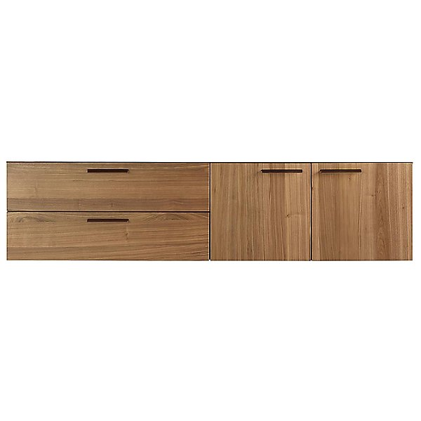 Shale 2 Door/2 Drawer Wall-Mounted Cabinet