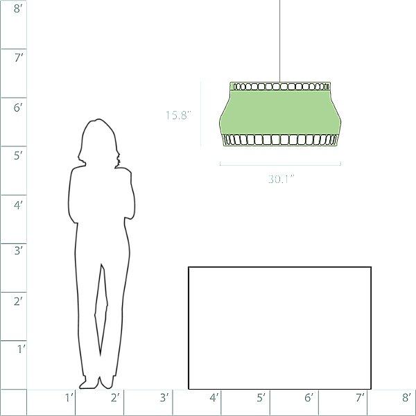 Laika Large Pendant Light