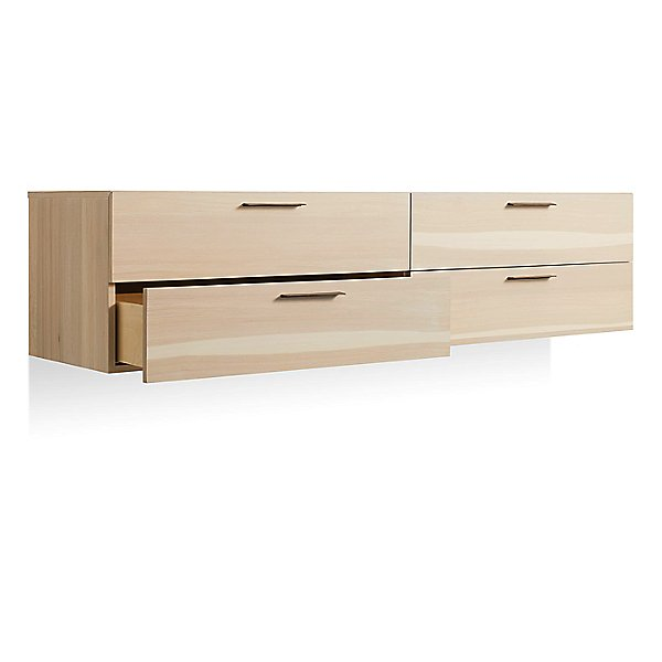 Shale 4 Drawer Wall-Mounted Cabinet