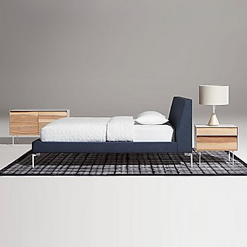 Pictured in use with the Clad Nightstand