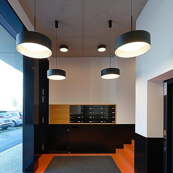 Studio Line LED Drum Shade Pendant Light