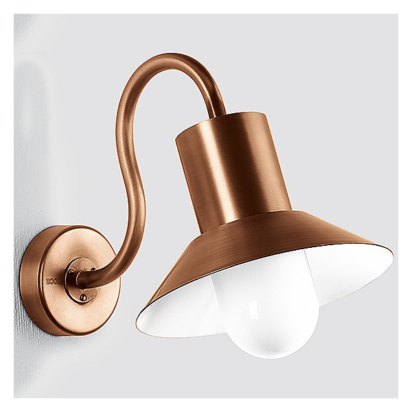 BOOM Collection Copper LED Outdoor Wall Light - 31004/31008