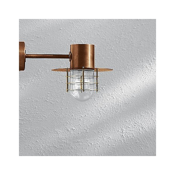 BOOM Collection Copper LED Outdoor Wall Light - 31171