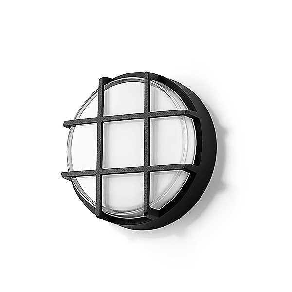 Impact Resistant LED Ceiling and Wall Light With Guard - 33502/33503