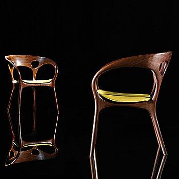 Rogue Leather / Cabernet color / Rear View