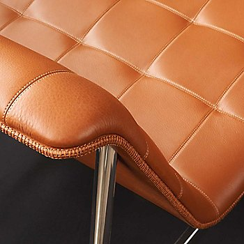 Rogue Leather: Chamois color / Detail view