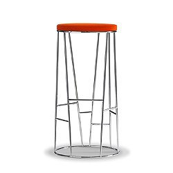 Forest High Profile Upholstered Bar Stool