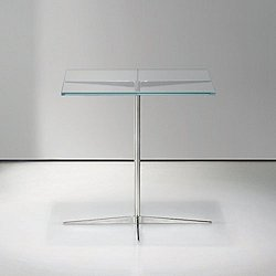 Facet Large Square Occasional Table