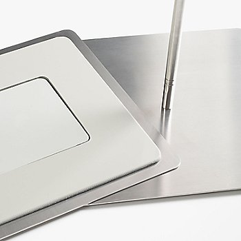 Brushed Stainless Steel base detail