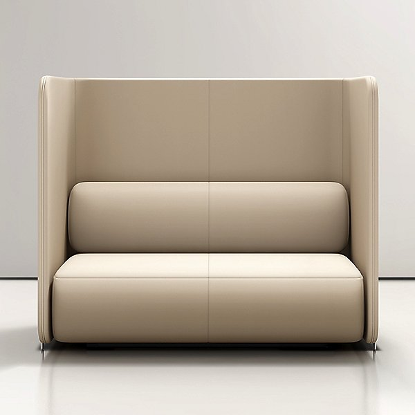 Code Privacy Wall Loveseat