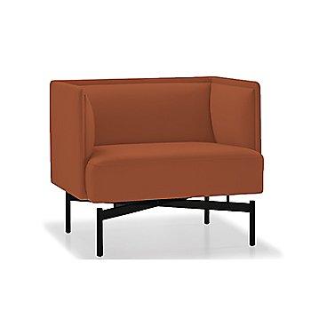 Powder-coated Matte Black finish / Focus / Paprika upholstery