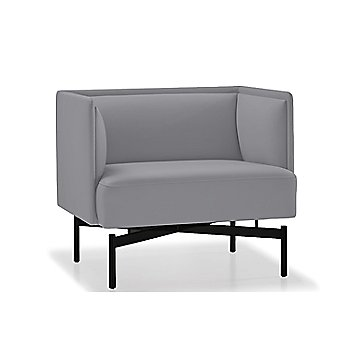 Powder-coated Matte Black finish / Focus / Smoke upholstery