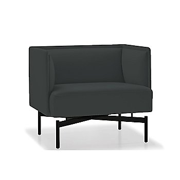 Powder-coated Matte Black finish / Essential Leather / Anthracite upholstery