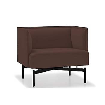 Powder-coated Matte Black finish / Rogue Leather / Mahogany upholstery