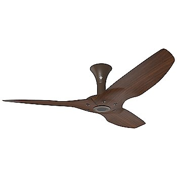 52 inch / Oil Rubbed Bronze with Cocoa Woodgrain finish