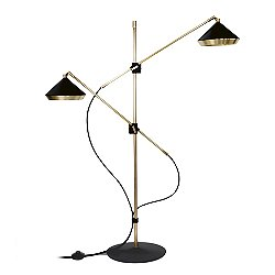 Shear Floor Lamp