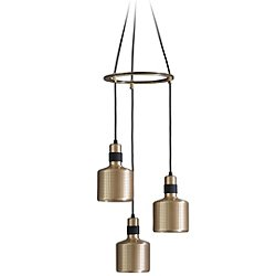Riddle Cluster Multi-Light Pendant Light