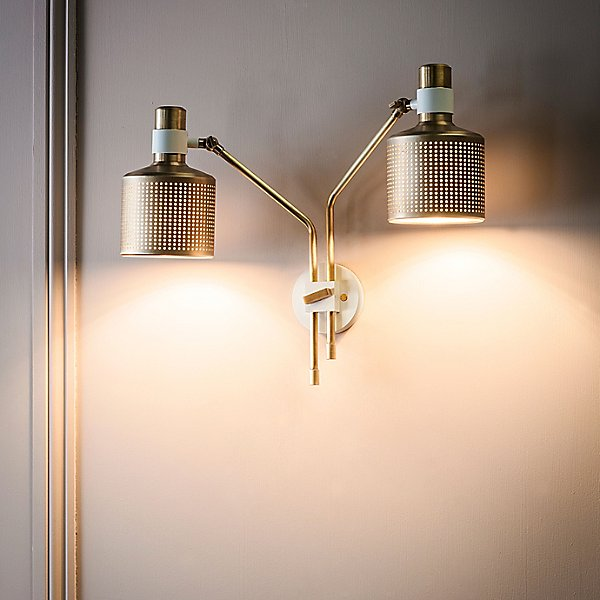 Riddle 2 Light Wall Sconce
