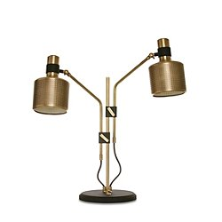 Riddle Double Table Lamp