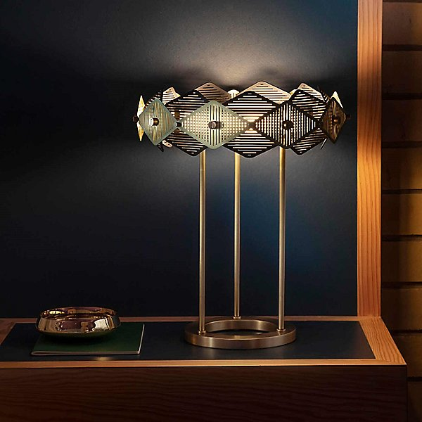 Rote LED Table Lamp
