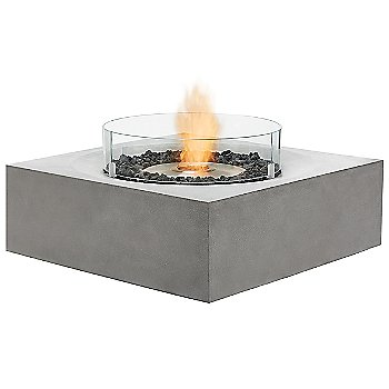 Natural finish (burner exposed- glass shield sold separately)