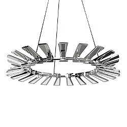 Wedge LED Chandelier Light