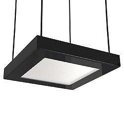 Quadra Square LED Pendant Light