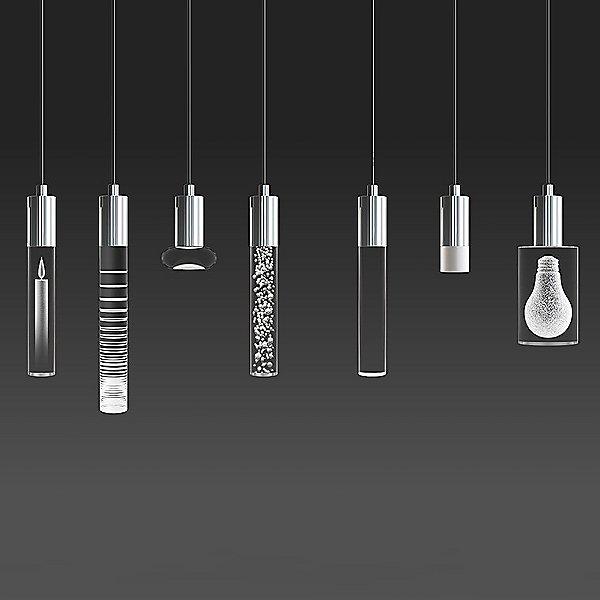 Seraph Square LED Multi-Light Pendant Light