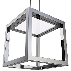Boxer LED Pendant (Chrome) - OPEN BOX RETURN