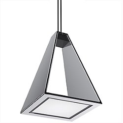 Tria LED Pendant (Polished Chrome) - OPEN BOX RETURN