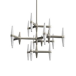 Prism Multi-Tier LED Chandelier