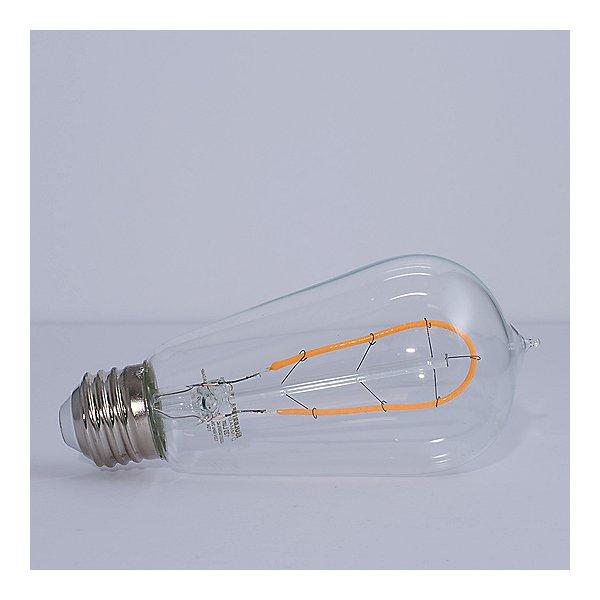 2W 120V ST18 E26 LED Clear Bulb