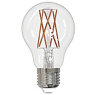 9W 120V A19 E26 LED Filament Clear Bulb