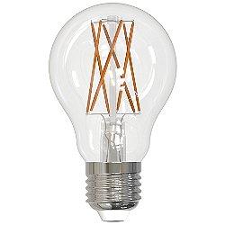 9W 120V A19 E26 LED Filament Clear Bulb