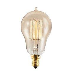 Nostalgic Edison A15 Vintage Thread Filaments Lamp