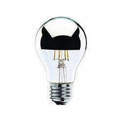 Special Filament Half Mirror LED A19 Lamp