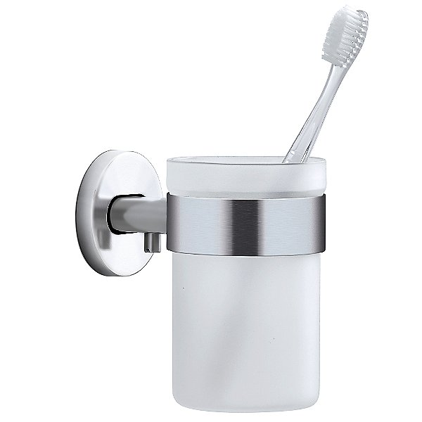 Areo Wall Mounted Toothbrush Glass