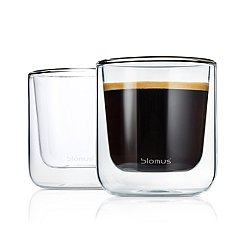Nero Insulated Coffee/Tea Glasses - Set of Two