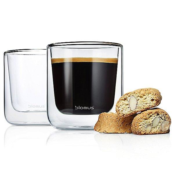 Nero Insulated Coffee/Tea Glasses - Set of Two