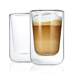 Nero Insulated Cappuccino/Tea Glasses - Set of Two