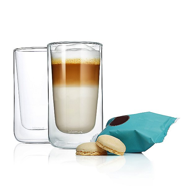 Nero Insulated Macchiato/Tea Glass - Set of Two