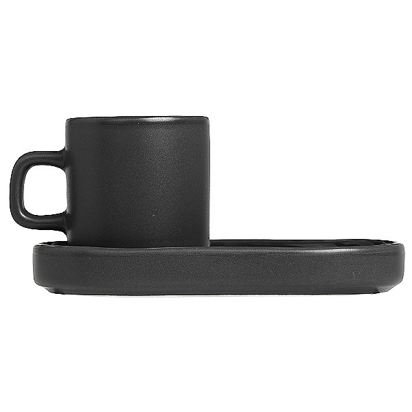 PILAR Espresso Cup with Tray Set of 2
