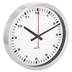 Era Wall Clock by Blomus (Medium/White) - OPEN BOX RETURN