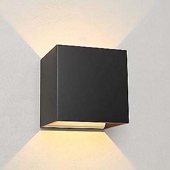 Black finish, illuminated