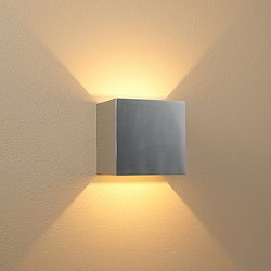 QB LED Wall Sconce (Brushed Chrome/Dimmable) - OPEN BOX