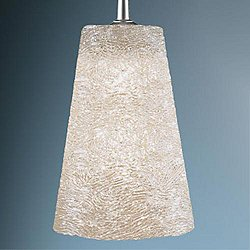Bling II Down Pendant Light (W/Polished/ Hal/No) - OPEN BOX