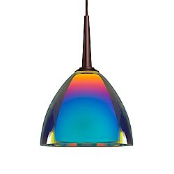 Rainbow II 120V Down Pendant Light (Sunset/Bronze)-OPEN BOX