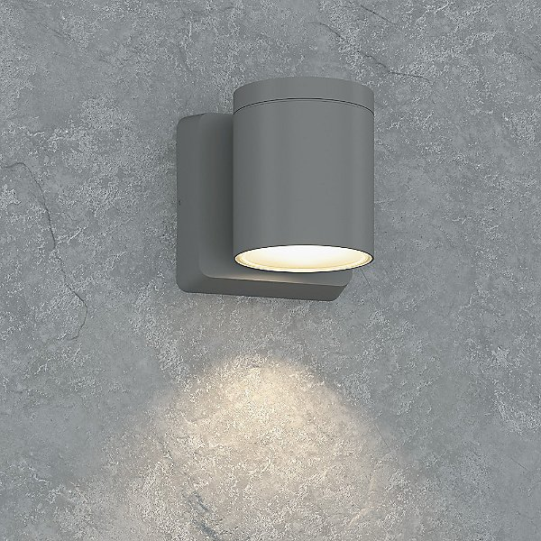 Outdoor Cylinder Led Wall Sconce, Outdoor Cylinder Light