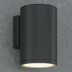 Outdoor Cylinder LED Wall Sconce