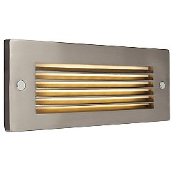 Ledra Step Light II (Nickel/Horizontal Louver) - OPEN BOX
